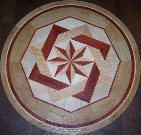 hardwood floor medallions hardwood floor medallion inlays and compass roses things