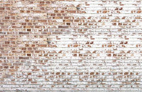 white paint bricks wall mural murals wallpaper