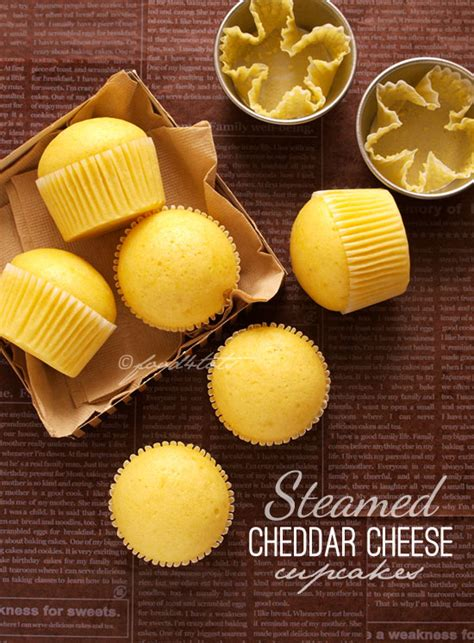 Cupcake Cheese steamed cheddar cheese cupcakes food 4tots recipes for toddlers