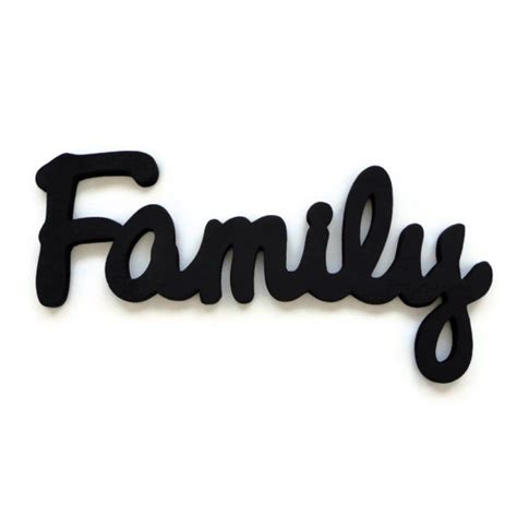 family woodworking family wall sign wooden lettering wall hanging