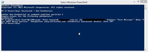 test smtp server how to test office smtp server using powershell