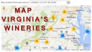 Virginia Wine Map by 230 Wineries And Counting