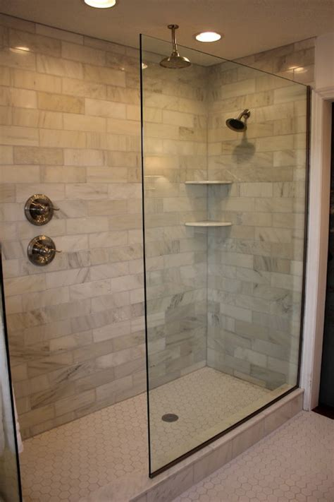 Walk In Shower Design Ideas Walk In Bathroom Shower