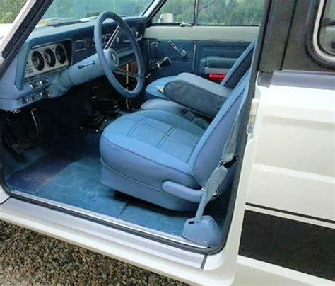 jeep chief interior interior fully restored blue levi edition jeep cherokee