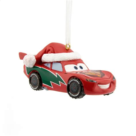 disney hallmark lightning mcqueen christmas ornament