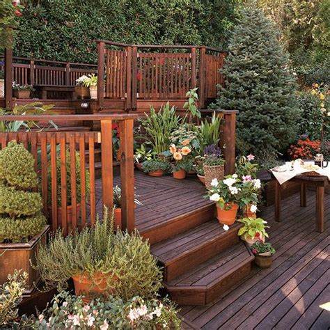 Sloped Garden Ideas Sloping Garden Ideas Pictures Of Decks Pinterest