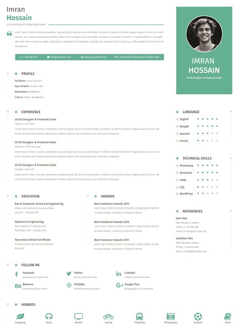 Resume Templates Free Download Word Top Form Templates Free Templates Download Attractive Resume Templates Free Word