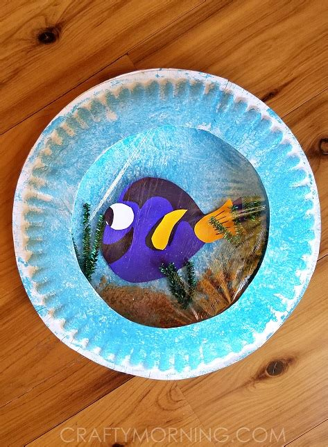 Paper Plate Craft Ideas For - finding dory paper plate craft crafty morning