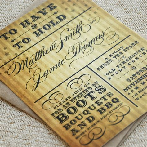 10 with charming rustic wedding invitations