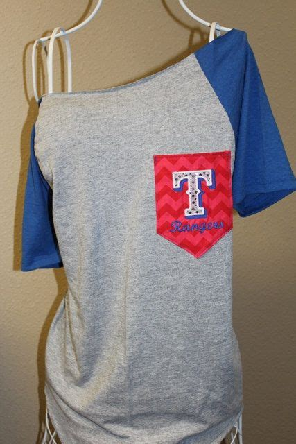 rangers pocket the shoulder shirt chevron