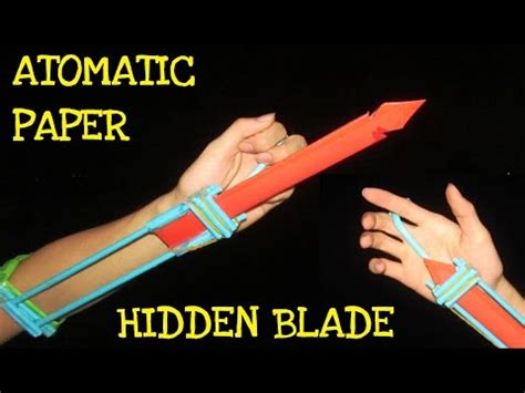 How To Make A Paper Blade Step By Step - how to make a paper blade step by step