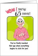 Humorous 65th Birthday Cards 65th birthday cards from greeting card universe