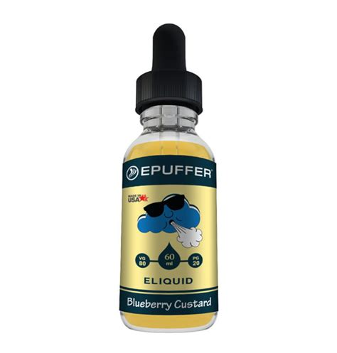 Blueberry Vanilla Custard Eliquid Premium 60ml 3mg blueberry custard eliquid vape liquid e liquid epuffer vape