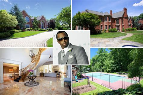 sean diddy combs from celebrity homes in the htons e diddy new jersey home diddy home