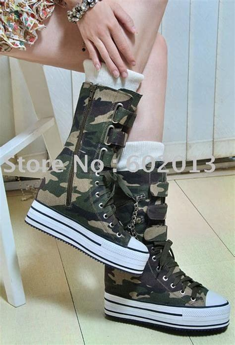 army pattern shoes army fatigue shoes with heel chalaza short boots