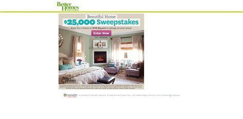 Bhg Com Daily Sweepstakes - bhg beautiful home 25 000 sweepstakes