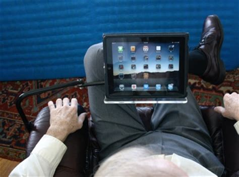 tablet floor stand read comfortably in any chair