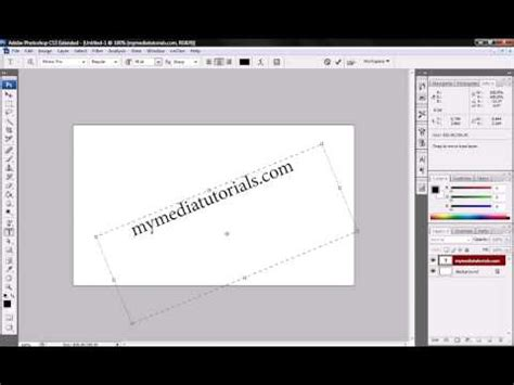 insert pattern in photoshop how to insert text with photoshop mymediatutorials com