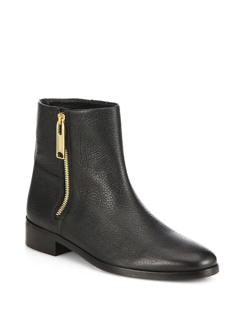 book of flat black ankle boots in singapore by