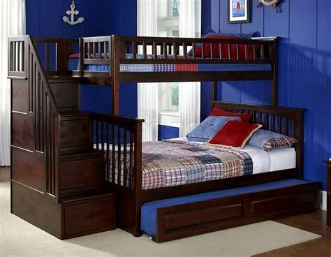 Bunk Beds With Stairs Cheap Cheap Bunk Beds With Trundle Andreas King Bed Great