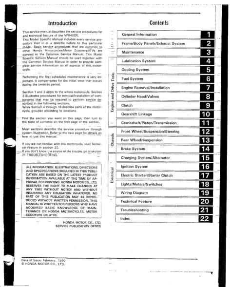 honda vfr nc30 fuse box wiring diagram with description