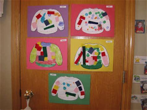 clothes theme for preschool craft preschool winter art