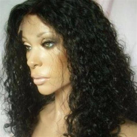 Wig Axela Curly 3 curly lace front wig renown premium hair
