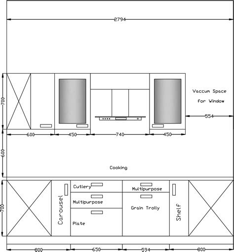 modular layout exles modular kitchen drafting samples and layout samples