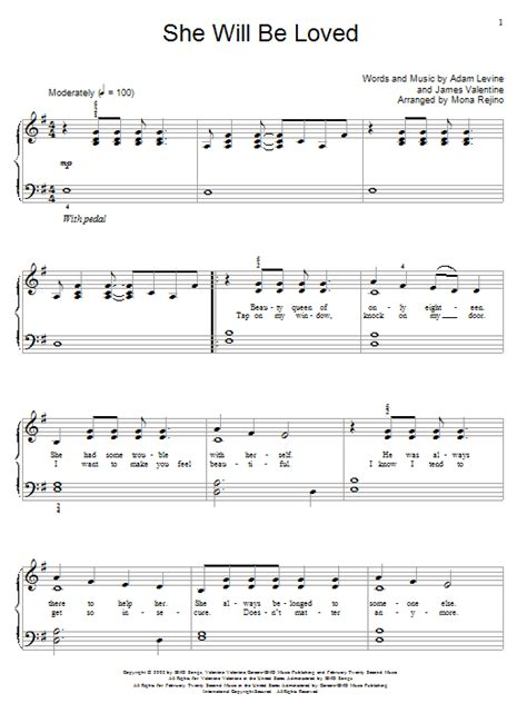 she will be loved guitar tutorial james valentine search results sheet music direct