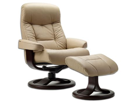 european recliner with ottoman muldal euro recliner w ottoman by fjords fjords euro
