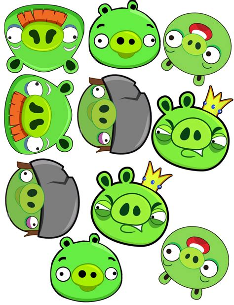 angry bird pig template the sew er the caker the copycat maker angry bird