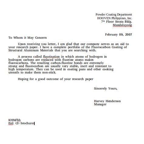 Response Enquiry Letter Social And Culture Letter Part 2