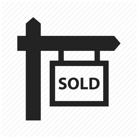 Records For House Sales Buy Home House Real Estate Sign Sold Icon Icon Search Engine