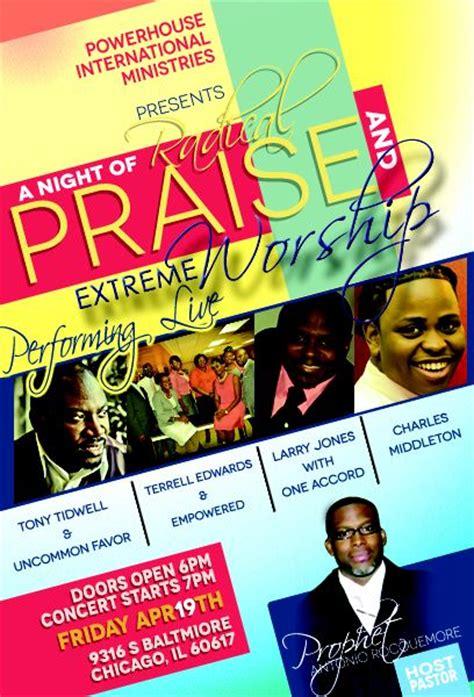 gospel meeting flyer template gospel concert poster design gospel concert flyer design