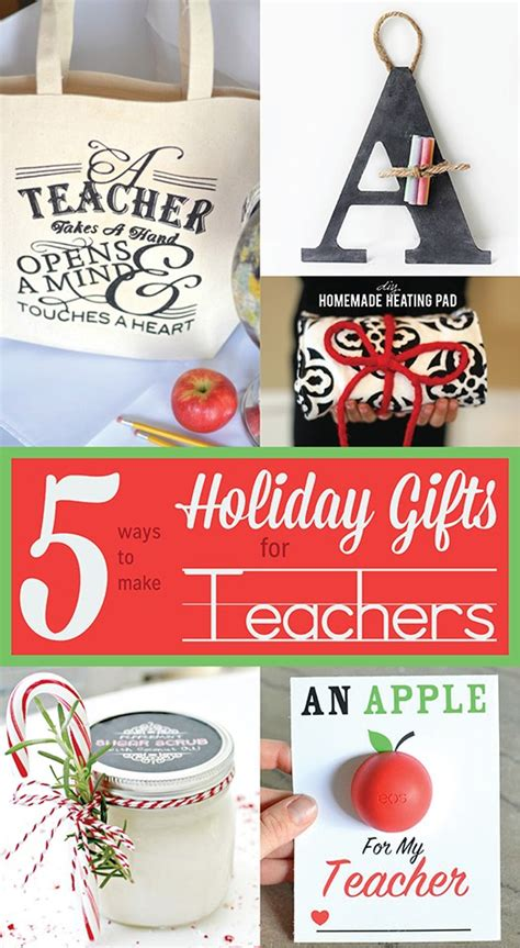 teacher christmas gifts to make 5 ways to make gifts for teachers infarrantly creative