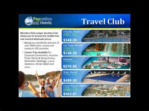Video: Paycation Travel Business Review   2013   2014