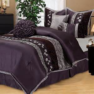 buy comforter set in purple from bed bath beyond