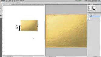 gold color in photoshop creating gold foil text in photoshop