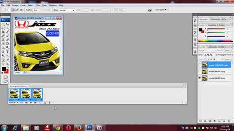 cara membuat banner iklan bergerak dengan photoshop coba cara membuat banner iklan animasi bergerak dengan