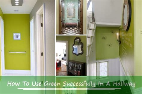 Window Shades by How To Use Green Successfully In A Hallway