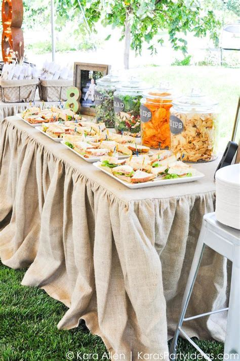 25  best ideas about Food Tables on Pinterest   Food table