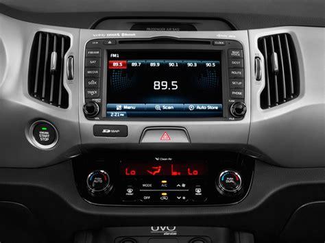 Kia Sound System Image 2016 Kia Sportage Awd 4 Door Sx Audio System Size