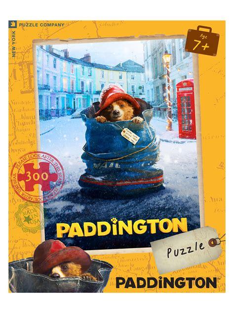 film jigsaw puzzles paddington movie poster jigsaw puzzle from gilt