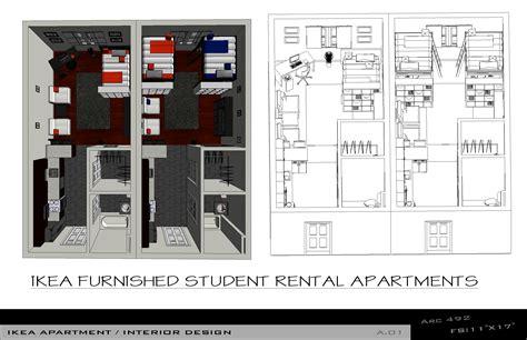 ikea apartment floor plan arcbazar com viewdesignerproject projectapartment design