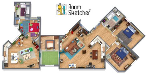 big floor plan big theory apartment floor plan car interior design