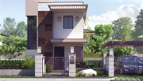 Pinoy House Designs House Design For Small Lot Area In The Philippines