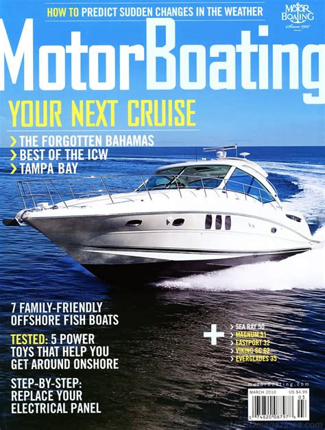 motor boating backissues motor boating march 2010 product details