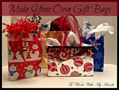 Hometalk Make Your Own Gift Bags Make Your Own Gift Bags Template