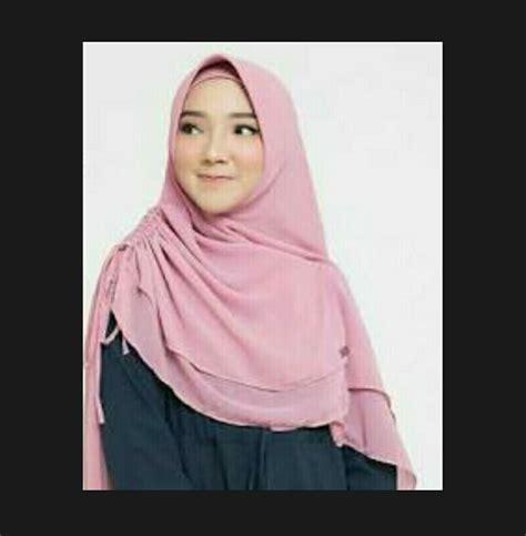 Jilbab Instan Bahan Satin Tips Memilih Jilbab Instan Kerut Sing Yang Nyaman