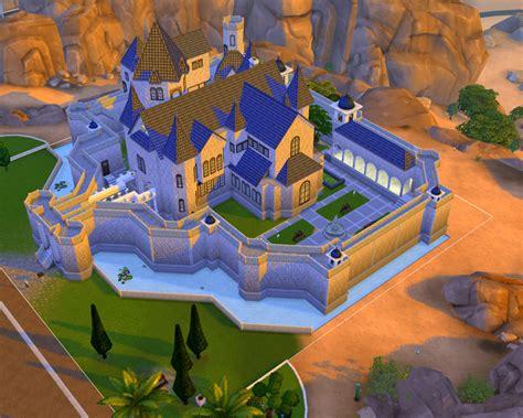 sims 4 medieval castle mod the sims the small kingdom castle no cc